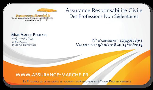 Assurance marché Responsabilité Civile pour Commerçant Ambulant