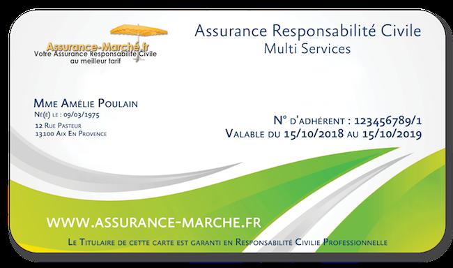 Assurance Responsabilité Civile Multi Services