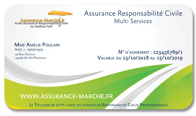 Assurance Resposabilité Civile Multi services